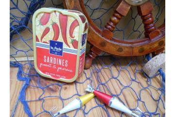 Sardines piment et poivrons à l'huile d'olive vierge extra
