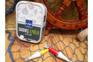 Sardines à poêler à l'ail