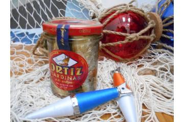 Sardines anciennes à l'huile d'olive