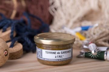 Terrine de sardines à l'ail